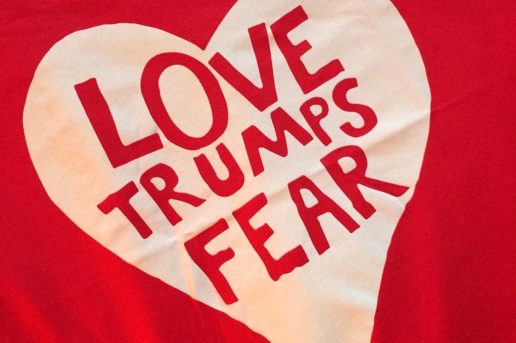 love trumps fear