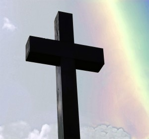 Rainbow Cross flickr